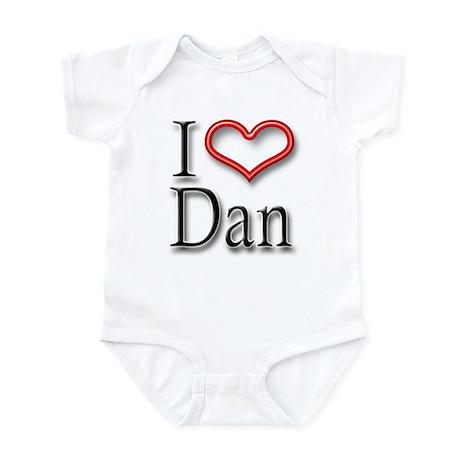 I Heart Dan Infant Bodysuit