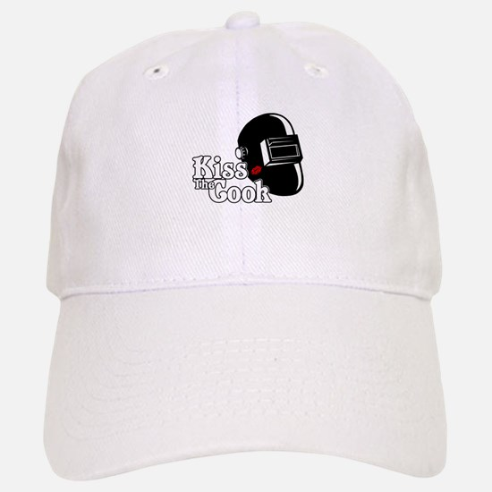 Kiss The Cook Baseball Baseball Baseball Cap