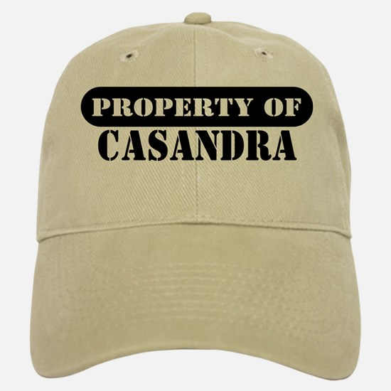 Property of Casandra Baseball Baseball Cap