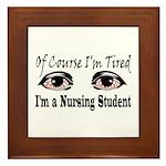 Nursing Student Framed Tile