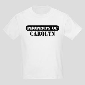 Property of Carolyn Kids T-Shirt