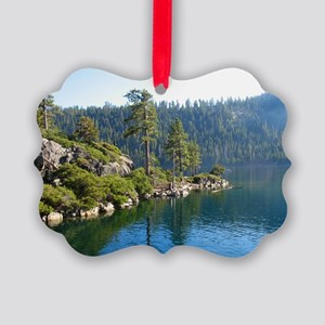 Emerald Bay-Lake Tahoe Picture Ornament