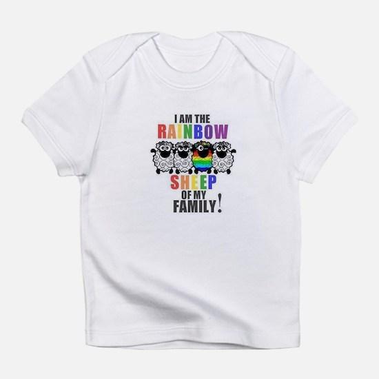 Rainbow Family Sheep Infant T-Shirt