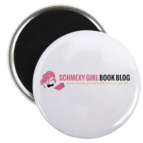 Schmexy Girl Book Blog Logo Magnet