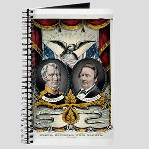 Grand national Whig banner - press onward - 1848 J