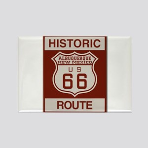 Albuquerque Route 66 Rectangle Magnet