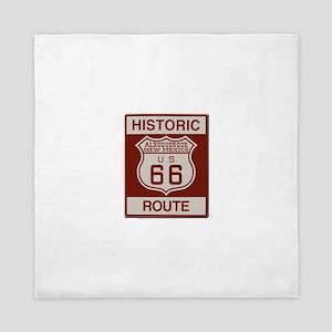 Albuquerque Route 66 Queen Duvet