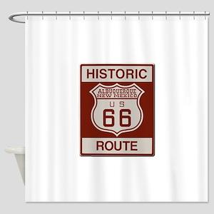 Albuquerque Route 66 Shower Curtain