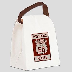 Albuquerque Route 66 Canvas Lunch Bag