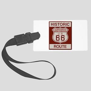 Albuquerque Route 66 Luggage Tag