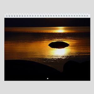 Lake Tahoe Calendar by Kawika Militante
