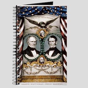 Grand, national, Whig banner - 1852 Journal
