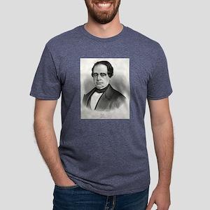 Hon. Hannibal Hamlin - 1860 Mens Tri-blend T-Shirt