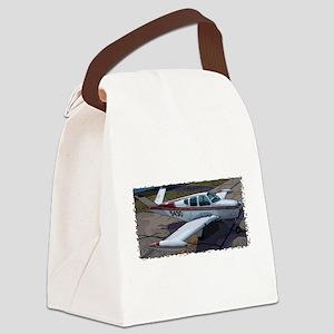 Beechcraft Bonanza Canvas Lunch Bag