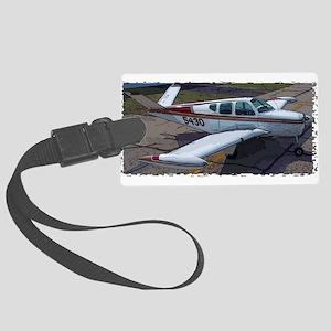 Beechcraft Bonanza Luggage Tag