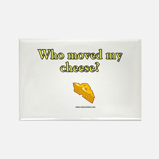 Who Moved My Cheese Rectangle Magnet (10 pack)