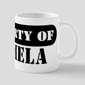 Property of Carmela Mug