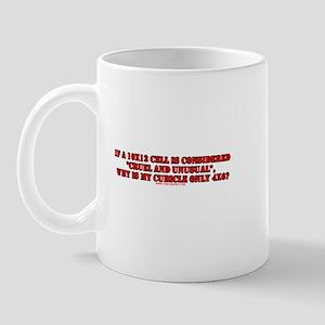 Cruel & Unusual Punishment Re Mug