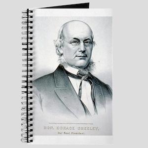 Hon. Horace Greeley - 1872 Journal