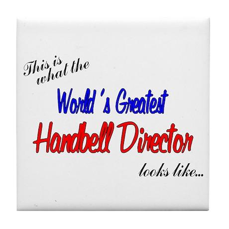 World's Greatest Director Tile Coaster