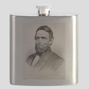 Hon. Schuyler Colfax - 1869 Flask