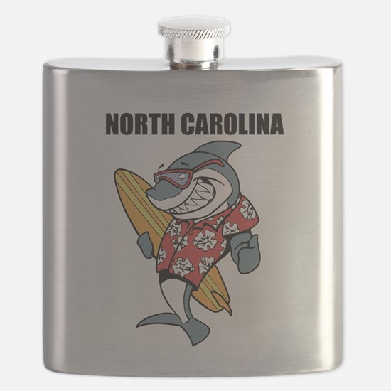 North Carolina Flask