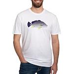Freshwater Drum fish (aka Sheephead) Fitted T-Shir
