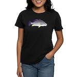 Freshwater Drum fish (aka Sheephead) Women's Dark
