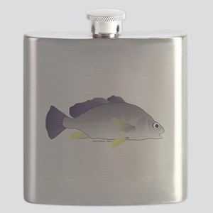 Freshwater Drum fish (aka Sheephead) Flask