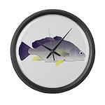 Freshwater Drum fish (aka Sheephead) Large Wall Cl