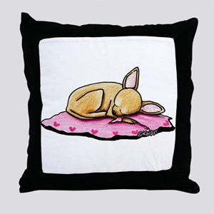 Sleeping Belleza Throw Pillow