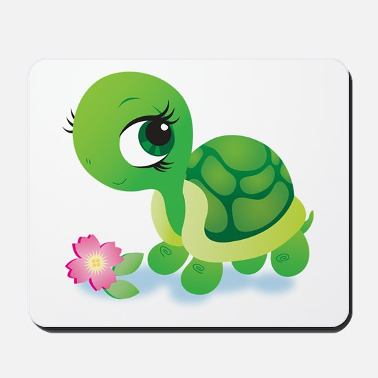 Toshi the Turtle Mousepad
