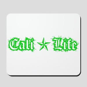 cali life 1a green Mousepad