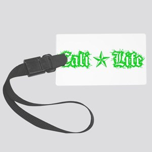 cali life 1a green Luggage Tag