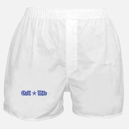 cali life 1a blue Boxer Shorts
