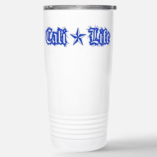 cali life 1a blue Travel Mug