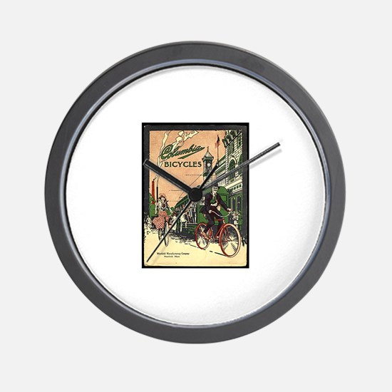 Columbia Bicycles old Vintage Advertisi Wall Clock