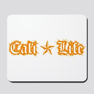 cali life 1a orange Mousepad