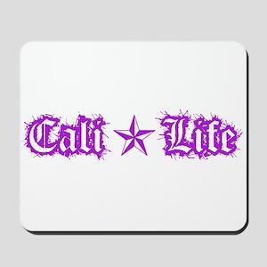 cali life 1a purple Mousepad
