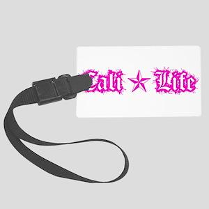 cali life 1a pink Luggage Tag