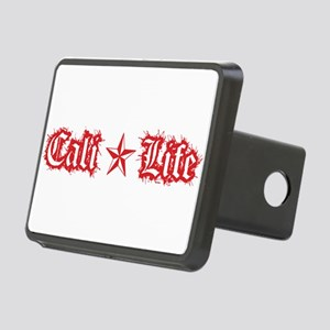cali life 1a red Hitch Cover