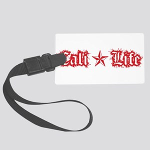 cali life 1a red Luggage Tag