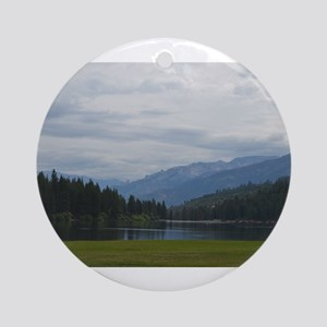 Hume Lake Ornament (Round)