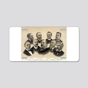 President Cleveland and his cabinet - 1893 Aluminu