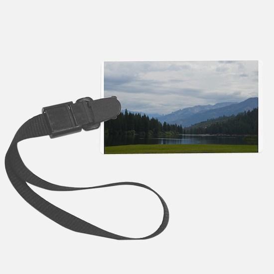Hume Lake Luggage Tag
