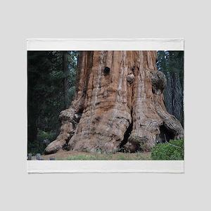 Giant Sequoia Throw Blanket