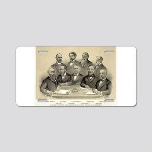 President Harrison and his cabinet - 1889 Aluminum