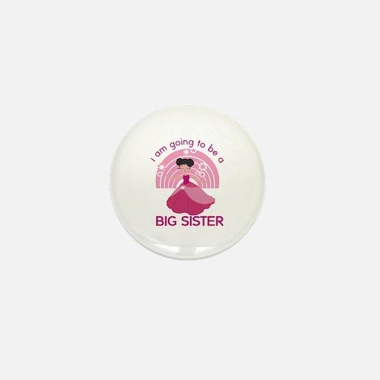 Big Sister - Princess Mini Button