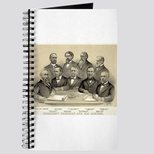 President Harrison and his cabinet - 1889 Journal