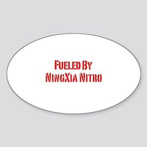Fueled by NingXia Nitro Sticker